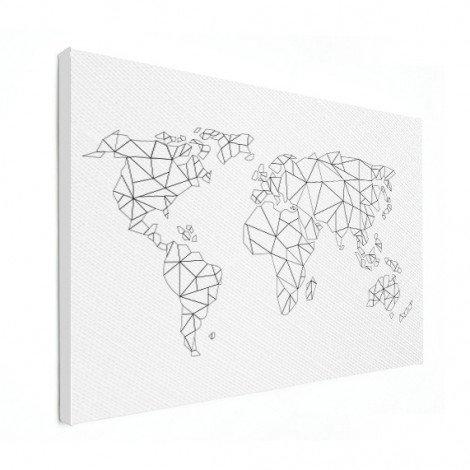 Geometric - Lines Canvas