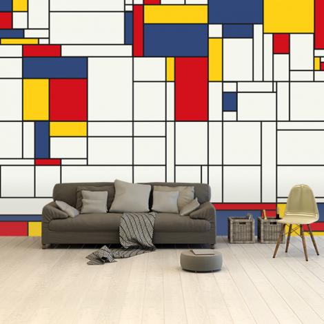 Mondrian Original Wallpaper