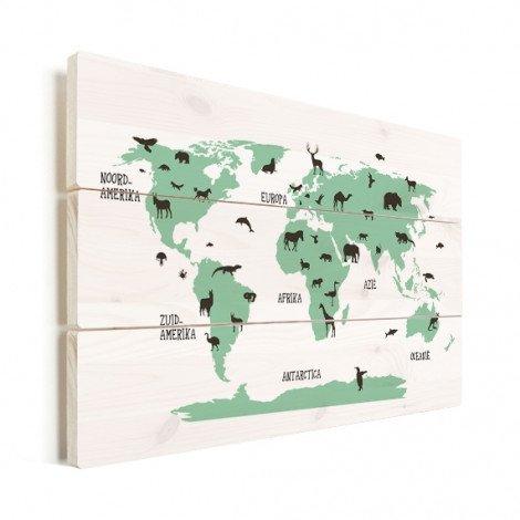 Animals Green Wood