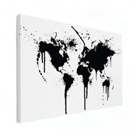 Black Ink Canvas