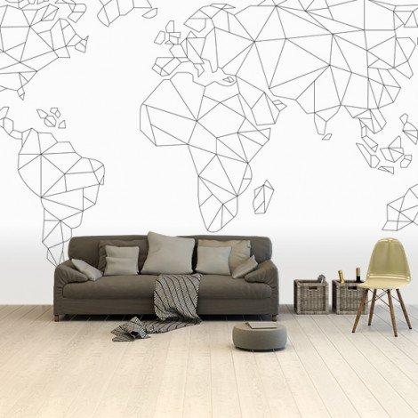 Geometric Lines Wallpaper