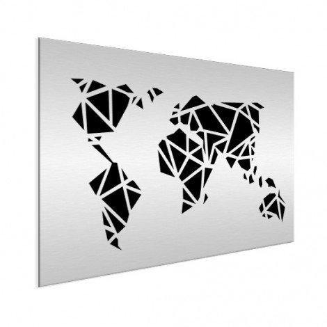 Geometric - Black Aluminium