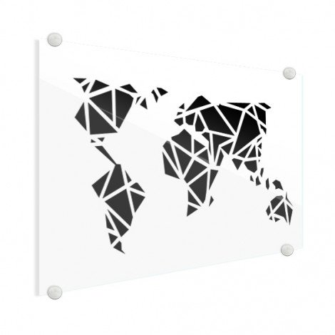 Geometric - Black Glass