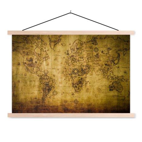 Historical Classroom World Map