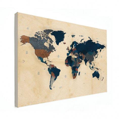 Old Parchment Canvas