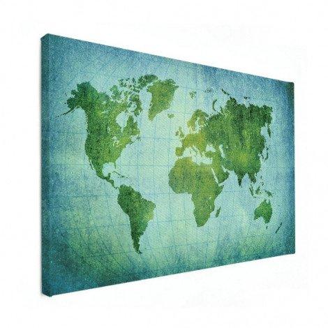 Parchment Bright Green Canvas