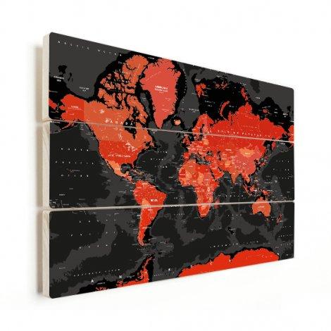 Red - Black Wood