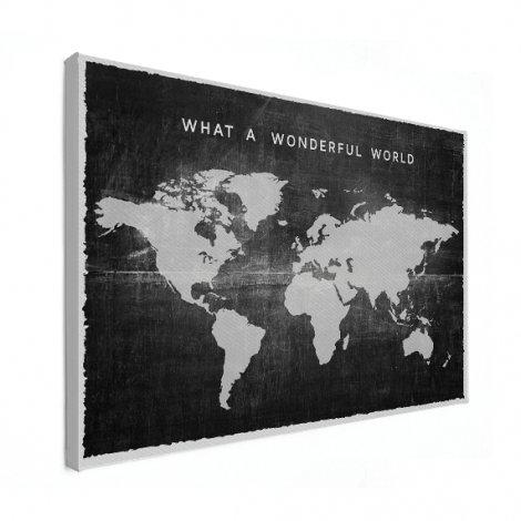 Fabric Black Canvas