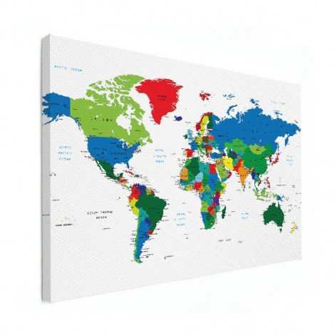 All Countries Canvas