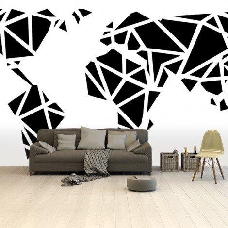 Geometric - Black Wallpaper