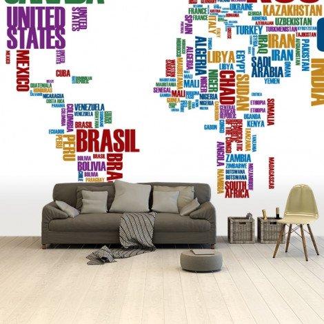 Text Colour Wallpaper