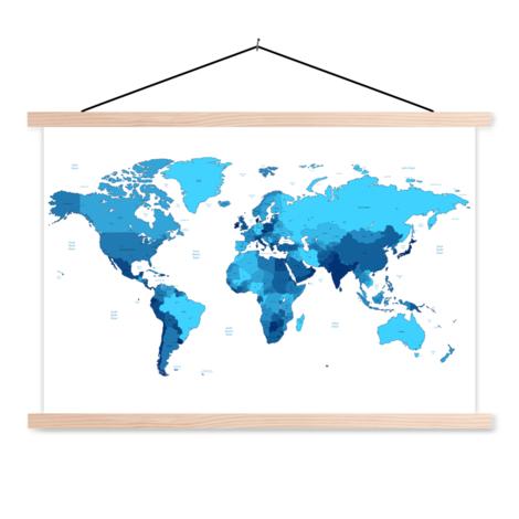 Blue Classroom World Map