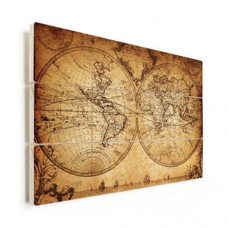 Hemisphere Parchment Wood