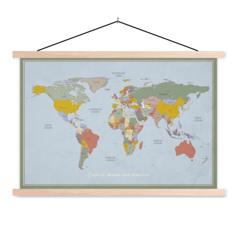 Discover Classroom World Map