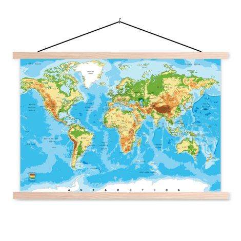 Classic Classroom World Map
