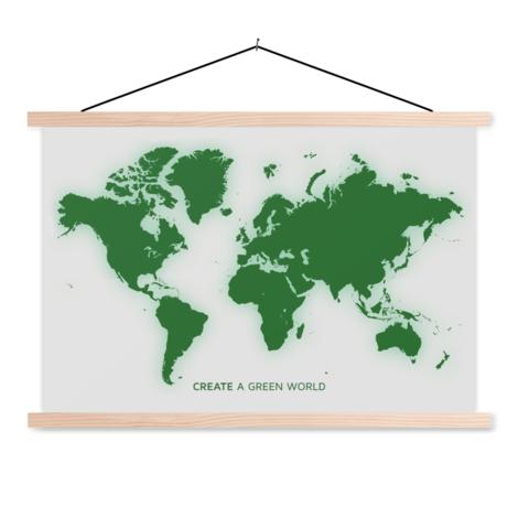 Green Classroom World Map