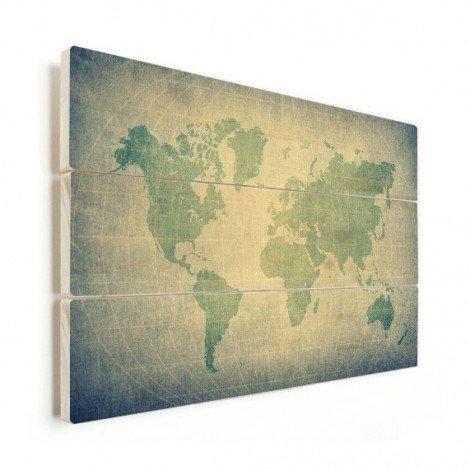 Parchment Pale Green Wood