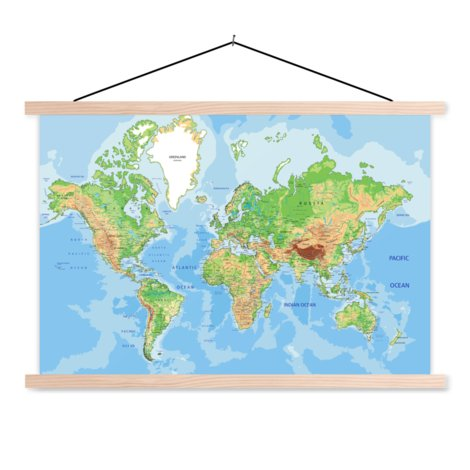 Geographic Classroom World Map