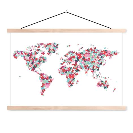 Butterflies Colour Classroom World Map