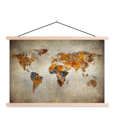Cave Painting Classroom World Map