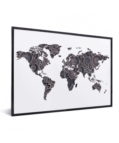 Asian Print Black-Pink In List