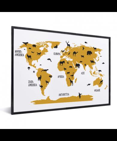 Animals Yellow In List