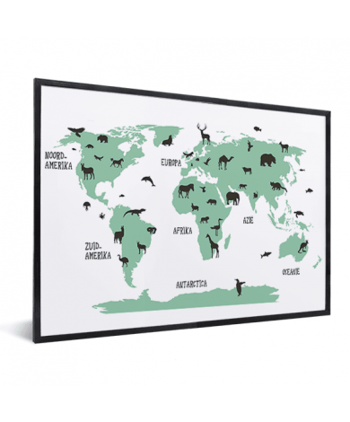 Animals Green In List