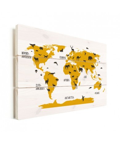 Animals Yellow Wood