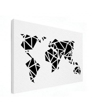 Geometric - Black Canvas