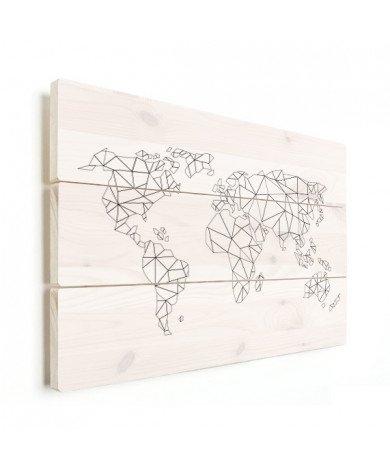 Geometric - Lines Wood