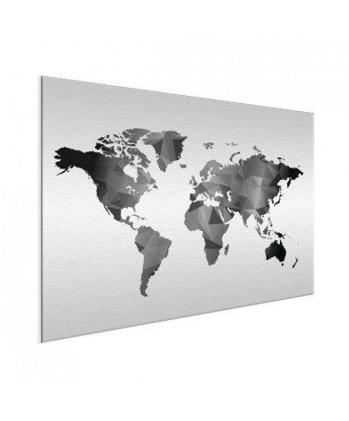 Geometric - Black And White Aluminium