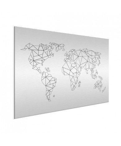 Geometric - Lines Aluminium