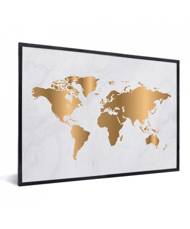 Gold Marble In List