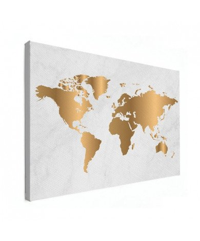 Gold Marble Canvas
