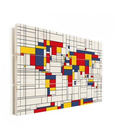 Mondrian Original Wood