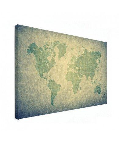 Parchment Pale Green Canvas