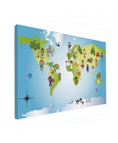 Worldmap Local Friends