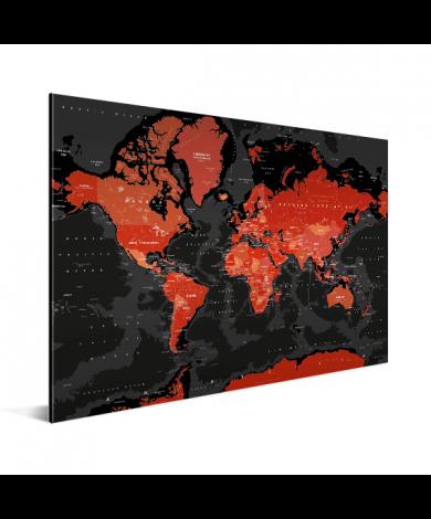 Red - Black Aluminium