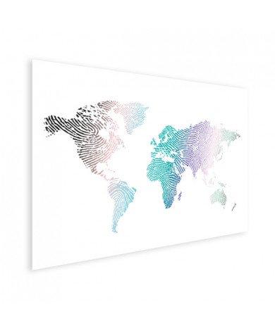 Fingerprint - Colourful Poster
