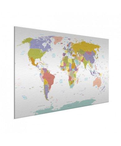 All Countries - Pastel Aluminium
