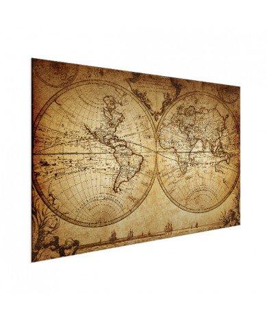 Hemisphere Parchment Aluminium