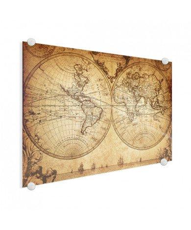 Hemisphere Parchment Glass
