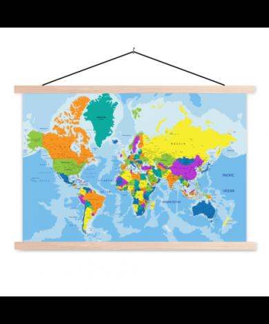 Colours Classroom World Map