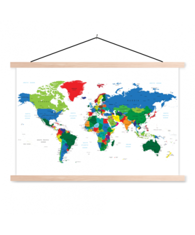 All Countries Classroom World Map