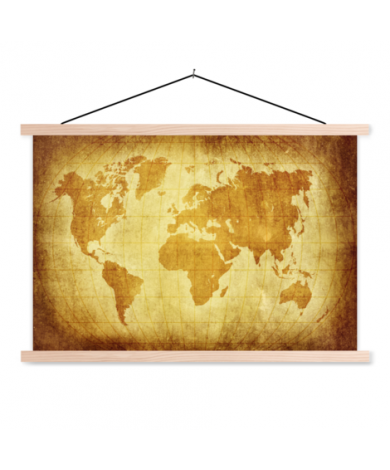 Parchment Classroom World Map