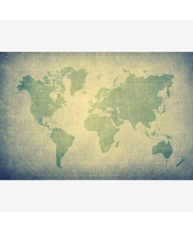 Parchment Pale Green Poster
