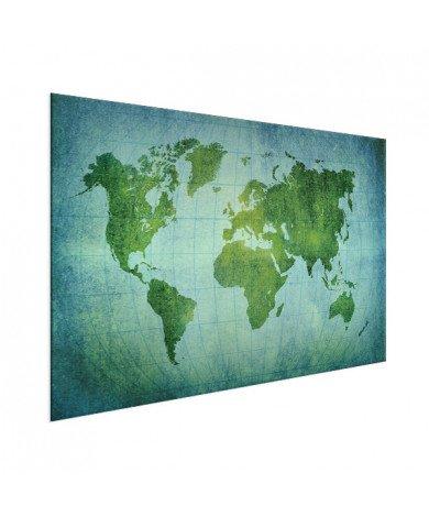 Parchment Bright Green Aluminium