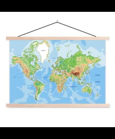 Geographic Classroom World Map