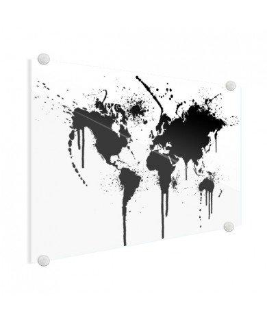 Black Ink Glass