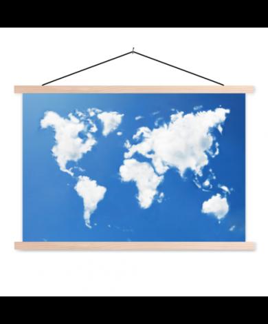 Clouds Classroom World Map